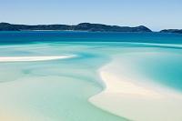オーストラリア クイーンズランド 白い砂浜と海