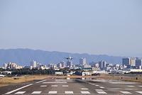大阪国際空港 JAL 着陸