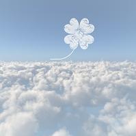 雲海と四葉の雲