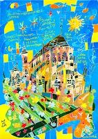 世界遺産アート フランス ブールジュ大聖堂