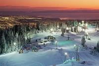 カナダ バンクーバー北部 グラウス山