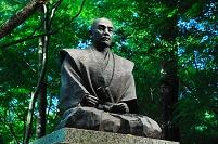 滋賀県 石田三成公像