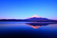 山梨県 山中湖 夜明けの富士山