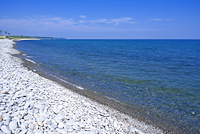 鳥取県 琴浦町 鳴り石の浜