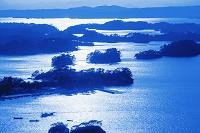 宮城県 松島と島影