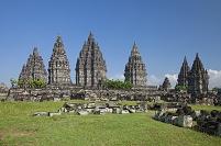 インドネシア ジャワ島 プランバナン寺院遺跡群