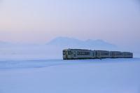 長野県 飯山線の朝