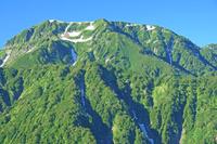 富山県 剣岳早月尾根から奥大日岳