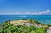 沖縄県 知念岬公園と海