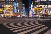 新宿歌舞伎町の夜景