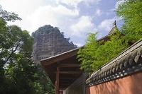 中国 シルクロード 麦積山石窟