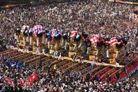新居浜太鼓祭り かきくらべ