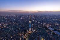 東京都 東京スカイツリー(粋)の夜景 都心方面