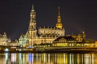 ドイツ ドレスデンの夜景
