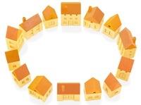 木の家の輪