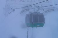 山形県 豪雪の蔵王ロープウェイ