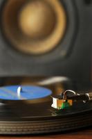 レコードとスピーカー