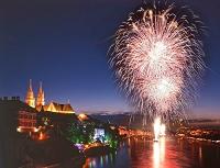 スイス 建国記念日の花火大会