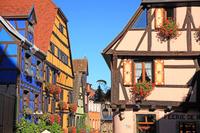 フランス アルザス地方 ワイン街道沿いの街リクヴィール