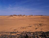 スーダン メロエ島の考古遺跡群