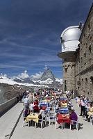 スイス ツェルマット クルムホテルとマッターホルン
