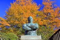 東京都 池上本門寺 力道山の胸像