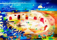 世界遺産アート セネガル ゴレ島