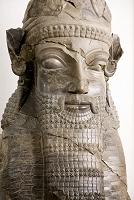イラン考古学博物館 出土品 胸像