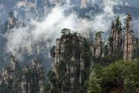 天子山 御筆峰 湖南省 中国
