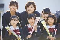 幼稚園の卒園式