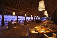 モルディブ リゾート レストラン