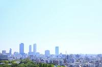 愛知県 名古屋駅前のビルと街並み