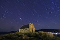 ニュージーランド 南島 テカポ湖畔 善き羊飼いの教会