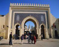 モロッコ ブー・ジュルード門