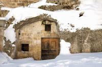 イタリア マテーラの洞窟住居