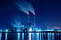 岡山の工場夜景