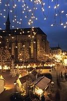フランス コルマール クリスマスマーケット
