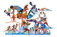 街とオリンピックスポーツ