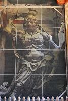 奈良県 東大寺 南大門の金剛力士像(吽形像)