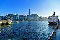 香港 香港島とヴィクトリア湾