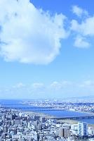 大阪府 新淀川と街並