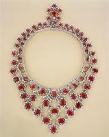 ルビーとダイヤモンドのネックレス