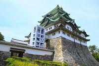 愛知県 名古屋城 大天守閣と不明門