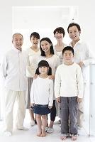 三世代日本人家族