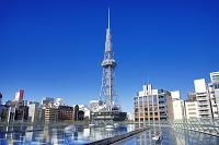 愛知県 名古屋市 水の宇宙船とテレビ塔