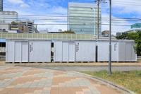 自治会の防災倉庫(静岡市森下公園)