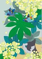 猫と花景11月