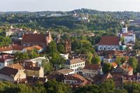リトアニア ヴィリニュスの旧市街地
