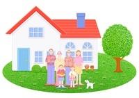 3世代家族と2世帯住宅