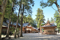 信濃國三之宮 穗高神社